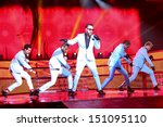Постер, плакат: The Backstreet Boys live