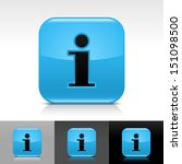 information icon blue color...