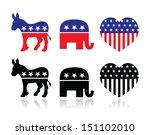 Usa Political Parties Symbols ...