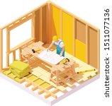 vector isometric house... | Shutterstock .eps vector #1511077136