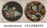 Embroidery Collection. Fish...