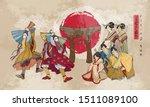 Japanese Samurai And Geishas....