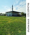 a small mosque on the beach of... | Shutterstock . vector #1511094746