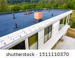 Roof Waterproofing. Building...