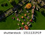 An Aerial View Of A Fairground...