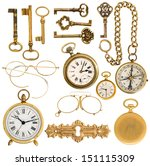 Collection Of Golden Vintage...