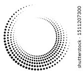 dotted  dots  speckles abstract ...   Shutterstock .eps vector #1511207300