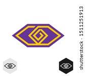 eye tech cornered logo.... | Shutterstock .eps vector #1511251913