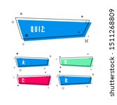 design of quiz. question and...   Shutterstock .eps vector #1511268809