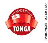 tonga flag  vector illustration ...   Shutterstock .eps vector #1511351420