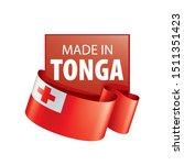 tonga flag  vector illustration ...   Shutterstock .eps vector #1511351423