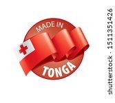 tonga flag  vector illustration ...   Shutterstock .eps vector #1511351426