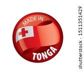 tonga flag  vector illustration ...   Shutterstock .eps vector #1511351429