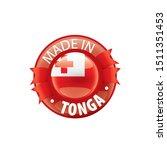tonga flag  vector illustration ...   Shutterstock .eps vector #1511351453