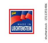 liechtenstein flag  vector...   Shutterstock .eps vector #1511351486
