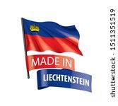 liechtenstein flag  vector...   Shutterstock .eps vector #1511351519