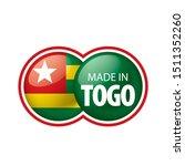 togo flag  vector illustration...   Shutterstock .eps vector #1511352260