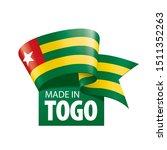 togo flag  vector illustration...   Shutterstock .eps vector #1511352263