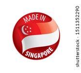 singapore flag  vector...   Shutterstock .eps vector #1511352290