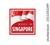 singapore flag  vector...   Shutterstock .eps vector #1511352299