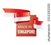 singapore flag  vector...   Shutterstock .eps vector #1511352320