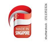 singapore flag  vector...   Shutterstock .eps vector #1511352326