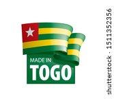 togo flag  vector illustration...   Shutterstock .eps vector #1511352356