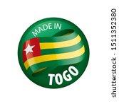 togo flag  vector illustration...   Shutterstock .eps vector #1511352380