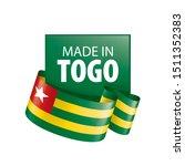 togo flag  vector illustration...   Shutterstock .eps vector #1511352383