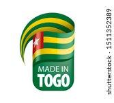 togo flag  vector illustration...   Shutterstock .eps vector #1511352389