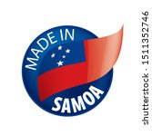 samoa flag  vector illustration ...   Shutterstock .eps vector #1511352746