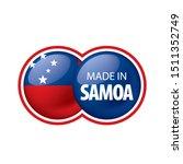 samoa flag  vector illustration ...   Shutterstock .eps vector #1511352749