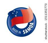 samoa flag  vector illustration ...   Shutterstock .eps vector #1511352773