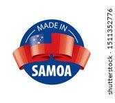 samoa flag  vector illustration ...   Shutterstock .eps vector #1511352776