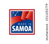 samoa flag  vector illustration ...   Shutterstock .eps vector #1511352779
