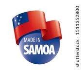 samoa flag  vector illustration ...   Shutterstock .eps vector #1511352800