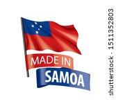 samoa flag  vector illustration ...   Shutterstock .eps vector #1511352803
