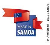 samoa flag  vector illustration ...   Shutterstock .eps vector #1511352806