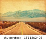 Route 66 Crossing The Mojave...