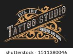 vintage logo template with... | Shutterstock .eps vector #1511380046