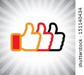 concept graphic  social media...   Shutterstock . vector #151140434