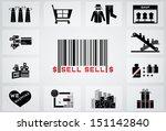 shopping icon | Shutterstock .eps vector #151142840