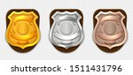 Realistic Police Badges....