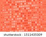light orange vector pattern... | Shutterstock .eps vector #1511435309