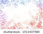 light blue  red vector template ... | Shutterstock .eps vector #1511437580