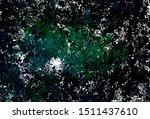 dark green vector backdrop with ... | Shutterstock .eps vector #1511437610