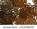 dark orange vector template... | Shutterstock .eps vector #1511440349