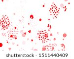light red vector backdrop with... | Shutterstock .eps vector #1511440409