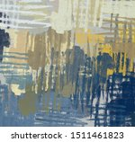 brush painting. artistic canvas ... | Shutterstock . vector #1511461823