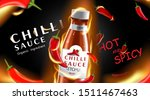 chilli hot sauce product ads... | Shutterstock .eps vector #1511467463